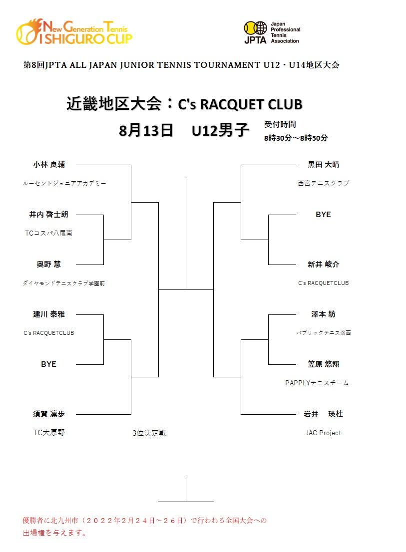 U12男子